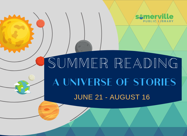 Summer Reading Challenge 2019 logo