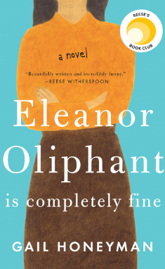 Eleanor Oliphant is Completely Fine by Gail Honeyman book cover