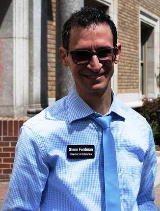 Image depicting library director Glenn Ferdman.