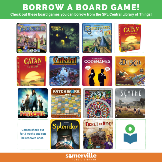Image containing board game box images