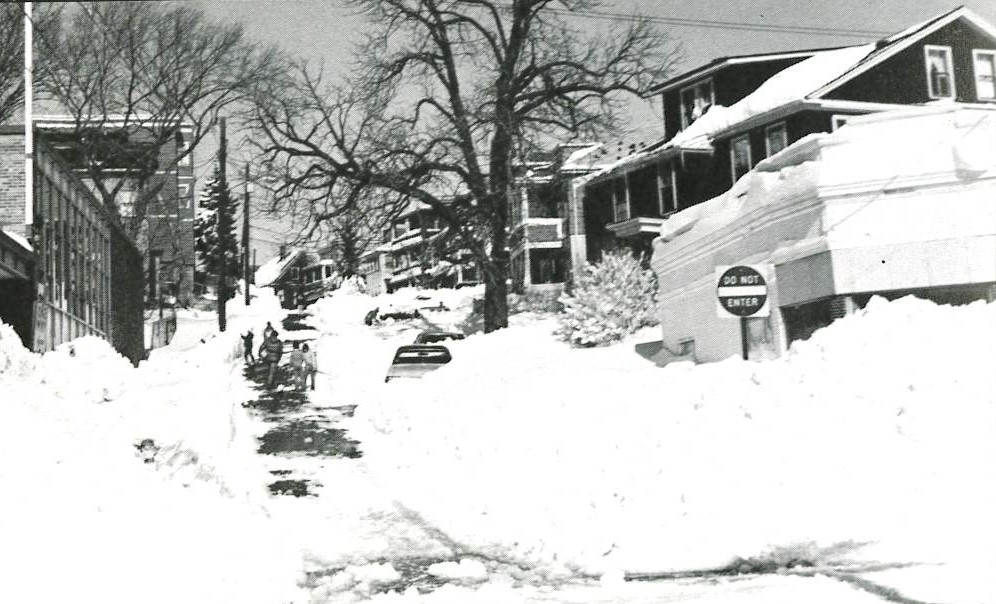 Boston Street, Somerville, Blizzard of 1978
