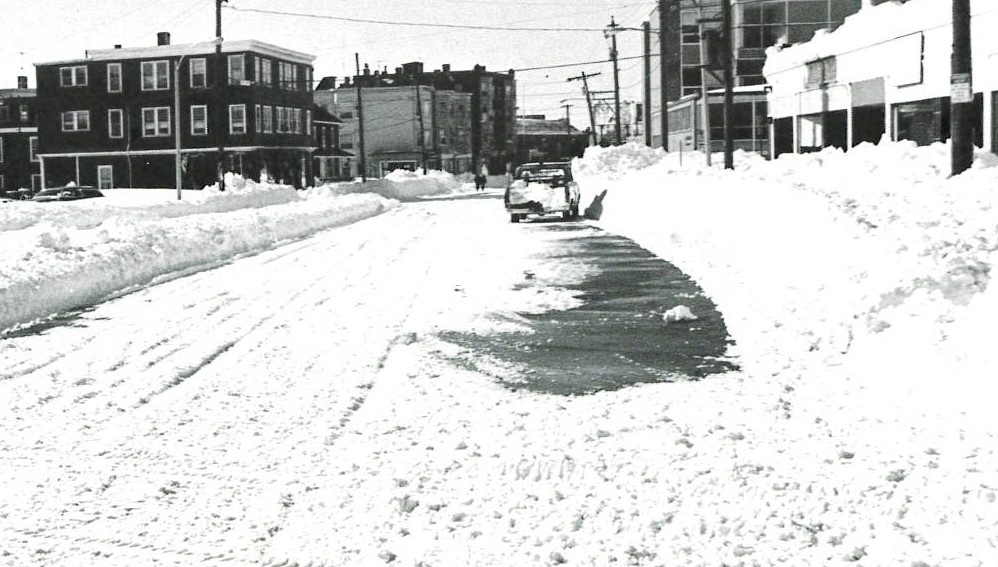 Washington St, Somerville, Blizzard of 1978