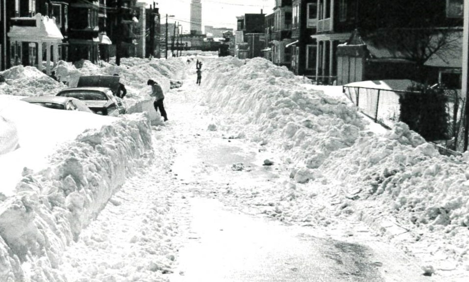 Somerville in the Blizzard of 78