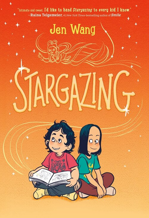 Stargazing by Jen Wang book cover