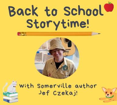 Back to School Storytime with Jef Czekaj