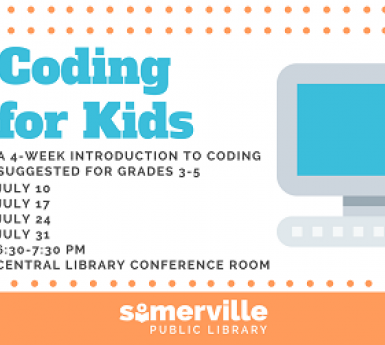 Coding for Kids dates