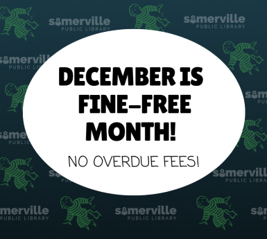 December is Fine Free Month