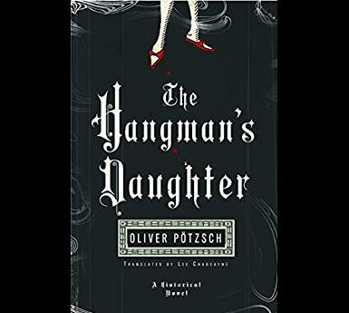 "cover of book, ""The Hangman's Daughter"""