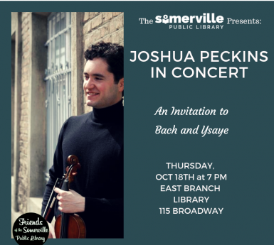 Violin Concert at the East Branch
