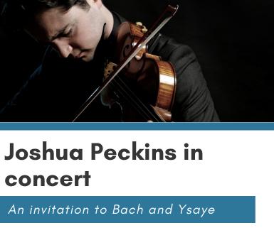 joshua peckins concert