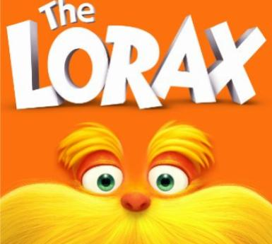 DVD cover of The Lorax