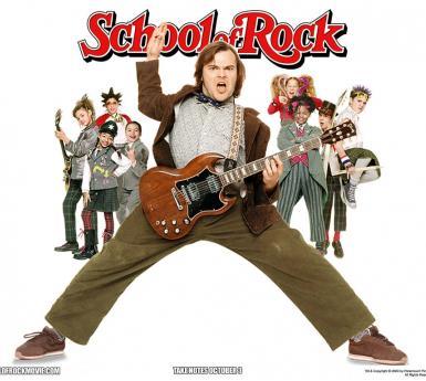 School of Rock movie poster