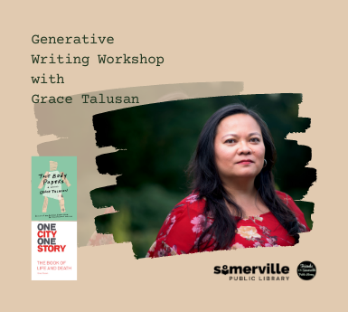 Generative Writing Workshop with Grace Talusan