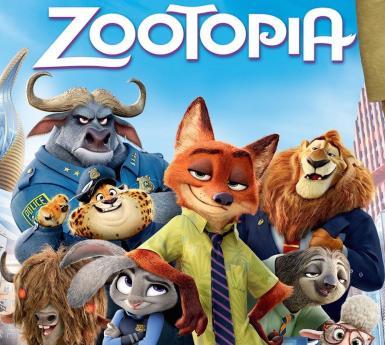 DVD cover of movie Zootopia
