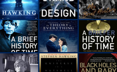 stephen hawking books and movies