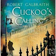 audio book cover: The Cuckoo's Calling
