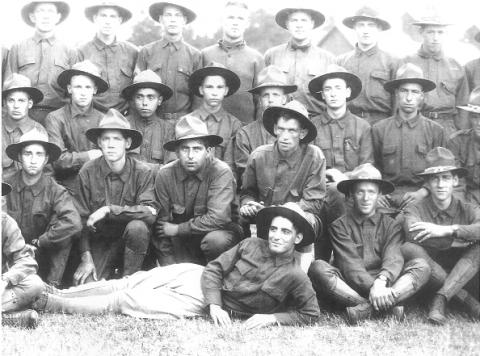 George Dilboy at Camp Keyes, Concord, NH