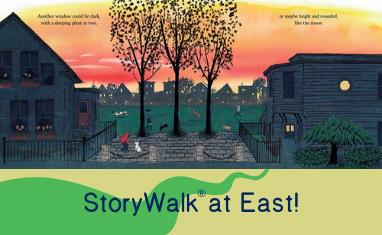 Somerville Public Library East Branch StoryWalk®!