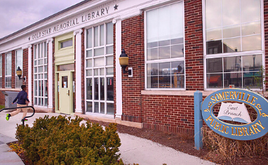 Somerville Public Library East Branch, 115 Broadway