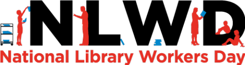 Image depicting National Library Workers Day poster.
