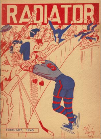 SHS Radiator cover 1945