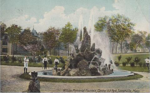 Wilson Memorial Fountain, Central Hill Park, Somerville, MA