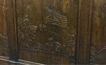 WPA Wood Carving