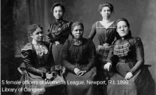womens league officers