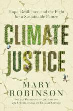 Climate Justice by Mary Robinson book cover