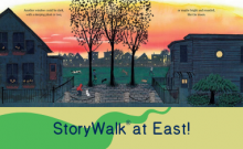 Somerville Public Library East Branch StoryWalk®!