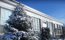 East Branch of the Somerville Public Library in the Snow!