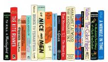 Image of books that are banned by Jane Mount