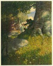 N. C. Wyeth painting of Robin Hood
