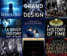stephen hawking books and movies