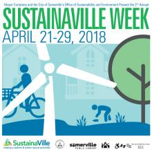 SustainaVille Week Poster 2018
