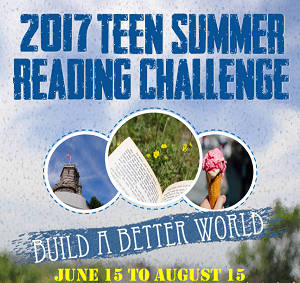Teen Summer Reading Challenge Flyer