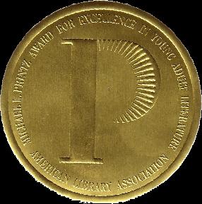 Michael L. Printz Award medal