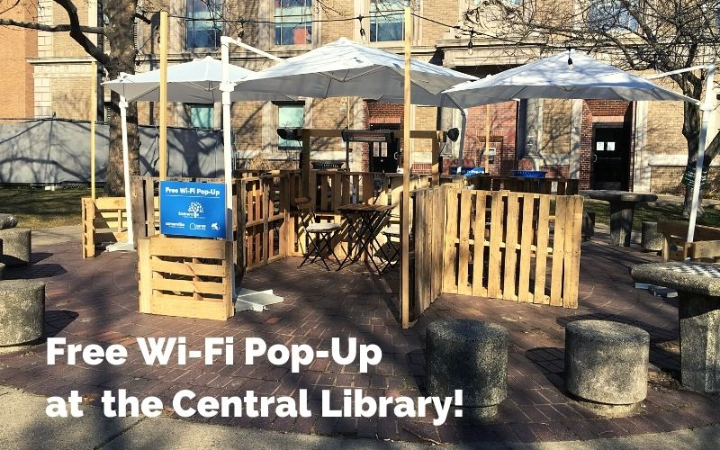 Somerville Public Library Wi-Fi Pop-Up